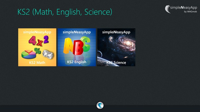 KS2 (Math, English, Science)-simpleNeasyApp by WAGmob screen shot 0