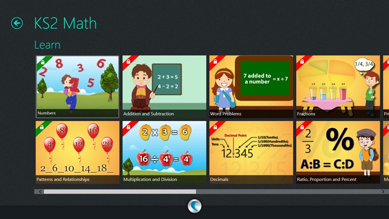 KS2 (Math, English, Science)-simpleNeasyApp by WAGmob screen shot 2