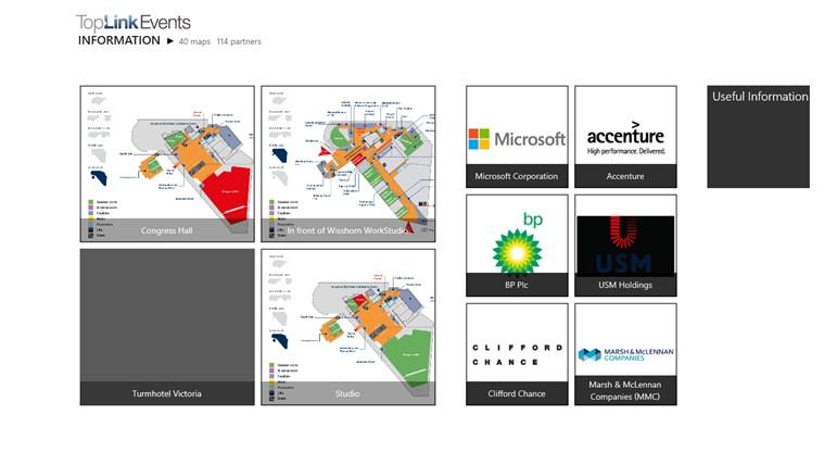 World Economic Forum Toplink Events screen shot 2