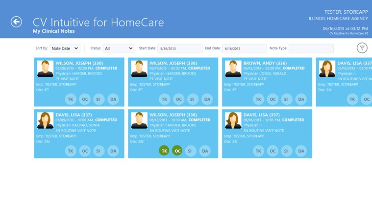 CV Intuitive for HomeCare screen shot 6