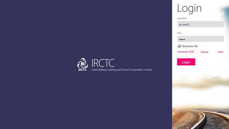 IRCTC Official screen shot 0