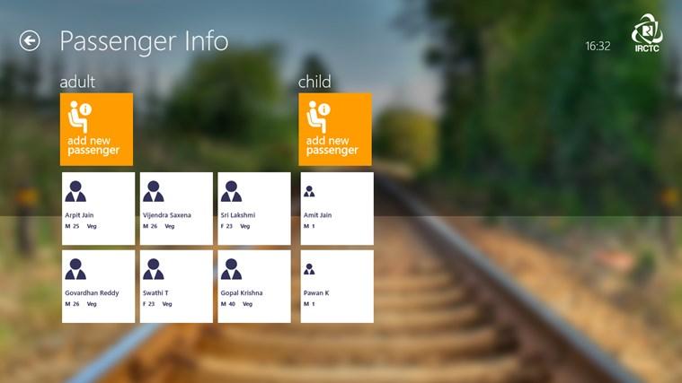 IRCTC Official screen shot 8