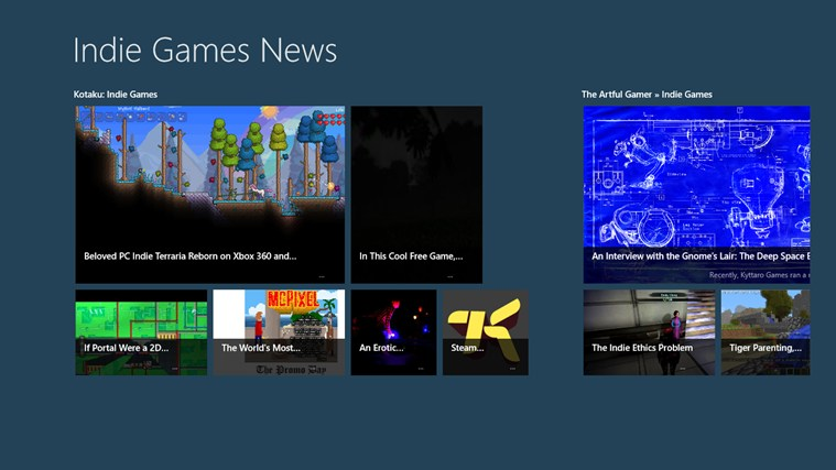 Indie Games News screen shot 0