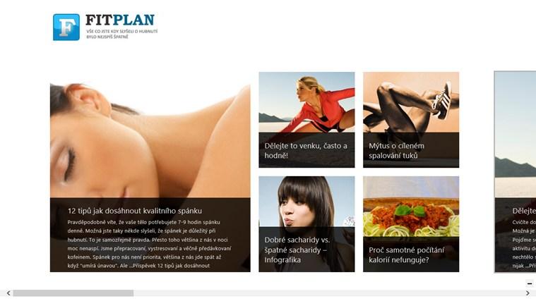 FitPlan.cz snímek obrazovky 0