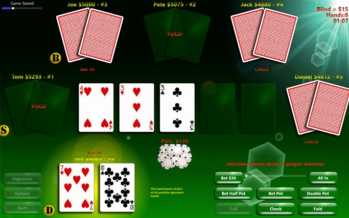PlayPoker - Texas Hold'em screen shot 0