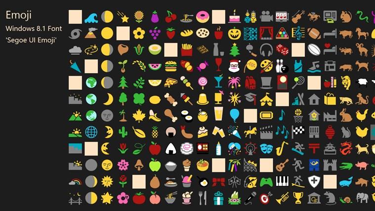 Emoji Font screen shot 0