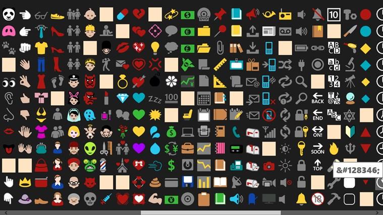 Emoji Font screen shot 2