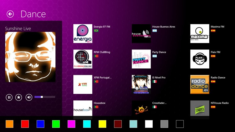 App Radio screen shot 2