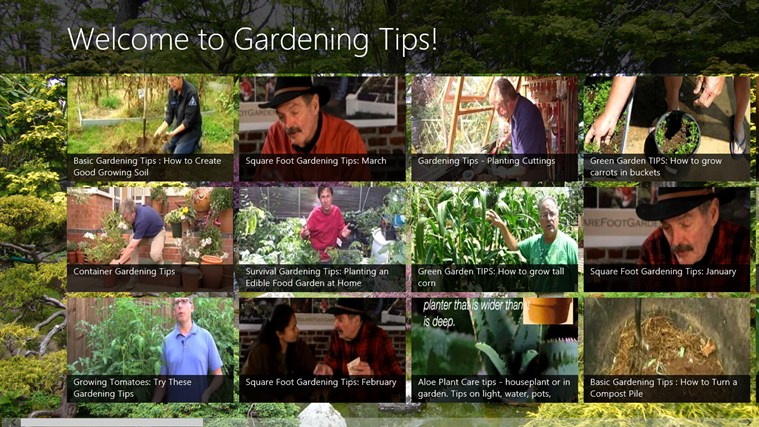 Gardening Tips screen shot 0
