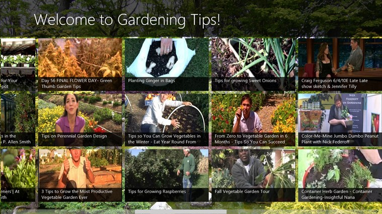 Gardening Tips screen shot 2