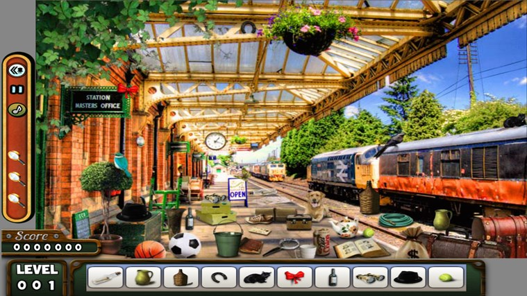 Hidden Objects - LONDON - Paradise - Kitchen screen shot 0
