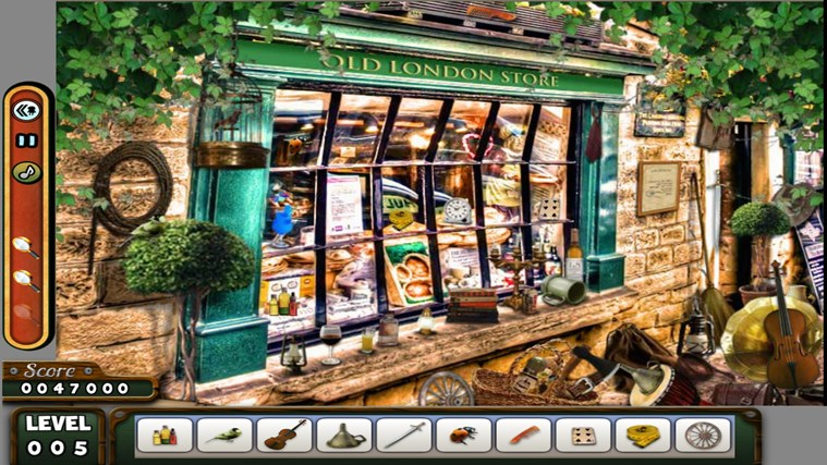 Hidden Objects - LONDON - Paradise - Kitchen screen shot 2