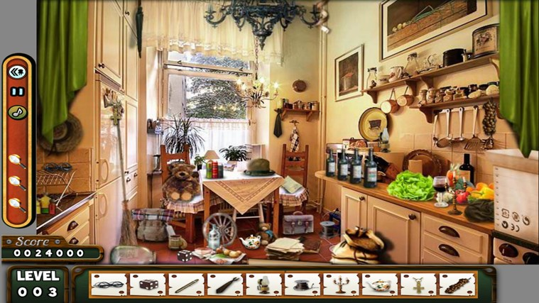 Hidden Objects - LONDON - Paradise - Kitchen screen shot 4
