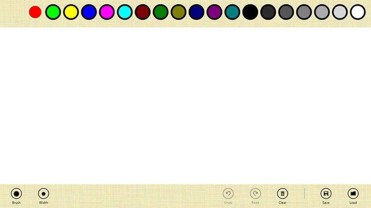 Finger Paint full screenshot