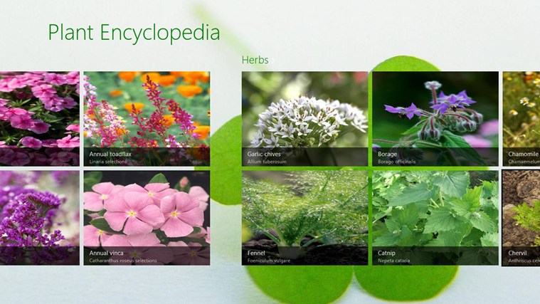 Plant Encyclopedia screen shot 0