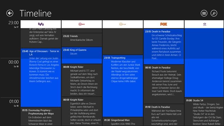 TV-Programm Screenshot 2