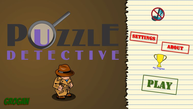 Puzzle Detective screen shot 0