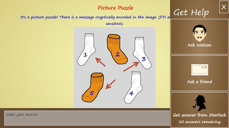 Puzzle Detective screen shot 4