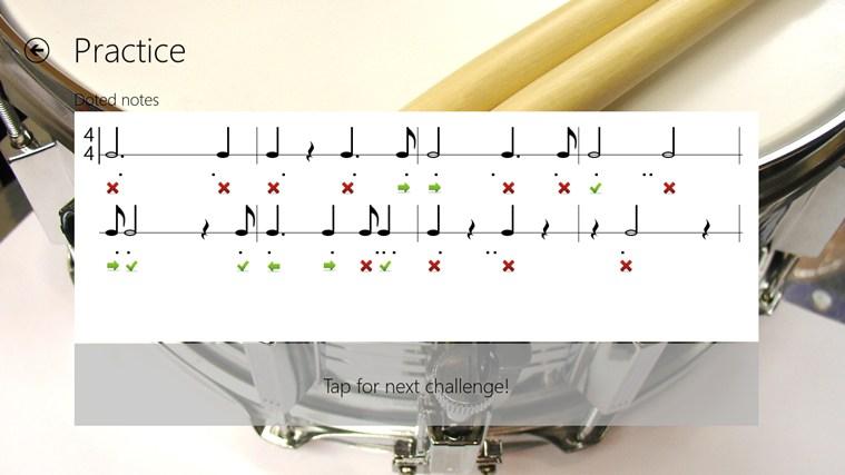 Rhythm Trainer zrzut ekranu 2