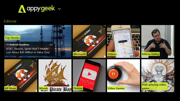 Appy Geek screen shot 0