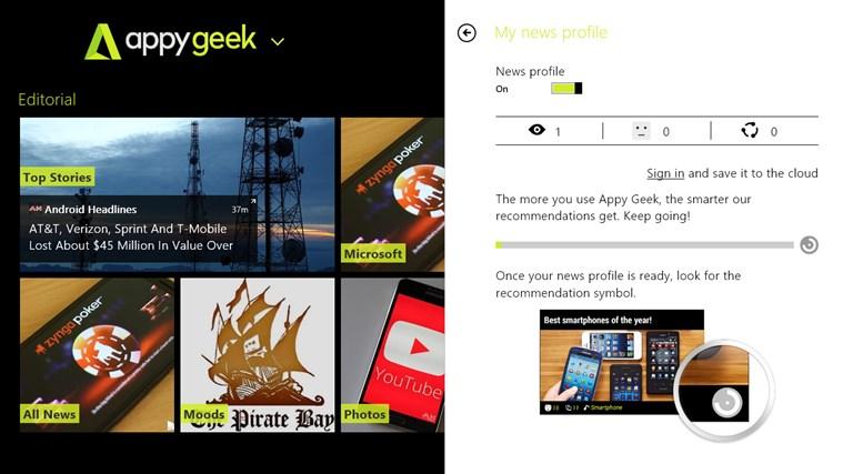 Appy Geek screen shot 4