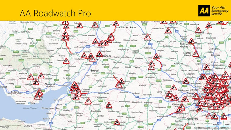 AA Roadwatch Pro screen shot 0