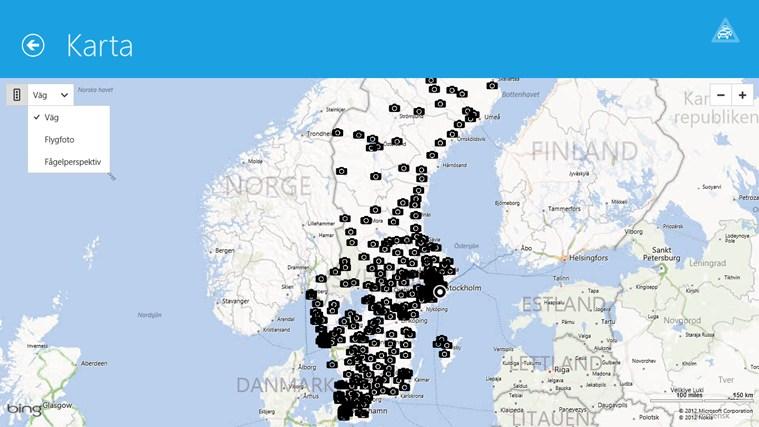 Trafiken Sverige-skärmbild 0