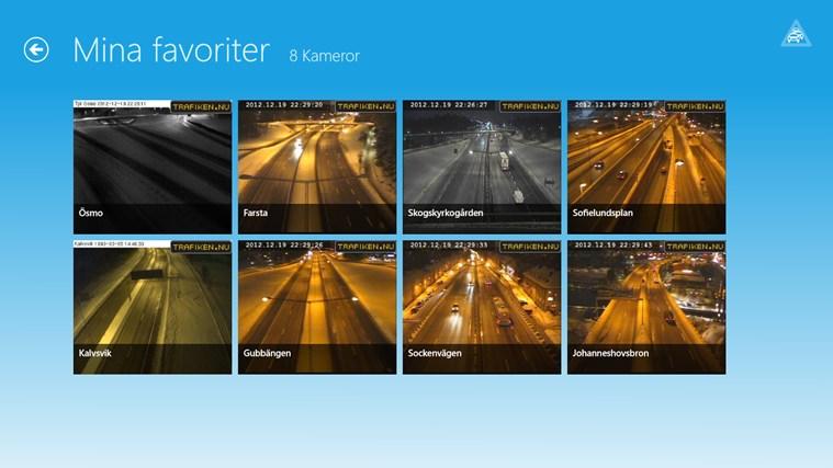 Trafiken Sverige-skärmbild 2