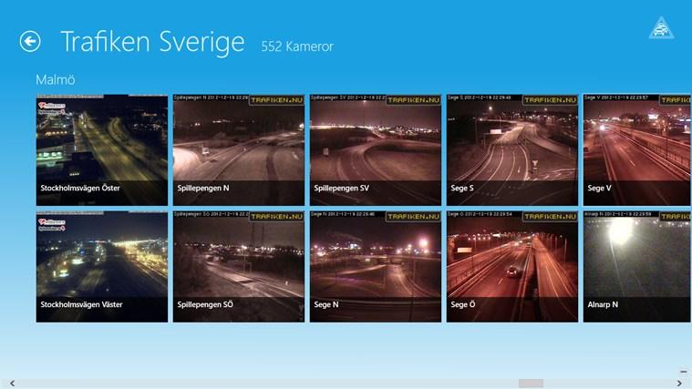 Trafiken Sverige-skärmbild 4