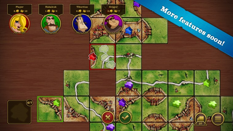 Carcassonne screen shot 6