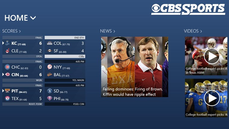 CBS Sports screen shot 0
