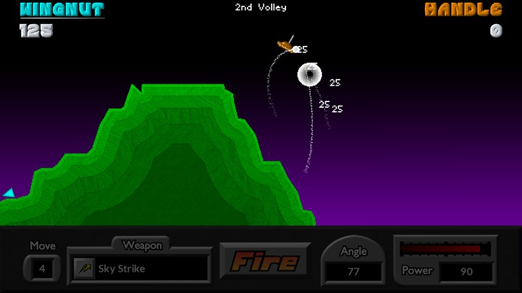 Pocket Tanks screen shot 2