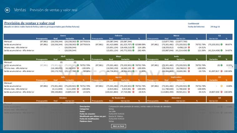 Jet Reports Player for Microsoft Dynamics® NAV captura de pantalla 2