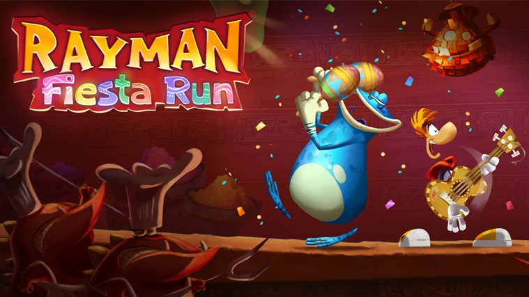 Rayman Fiesta Run screen shot 0