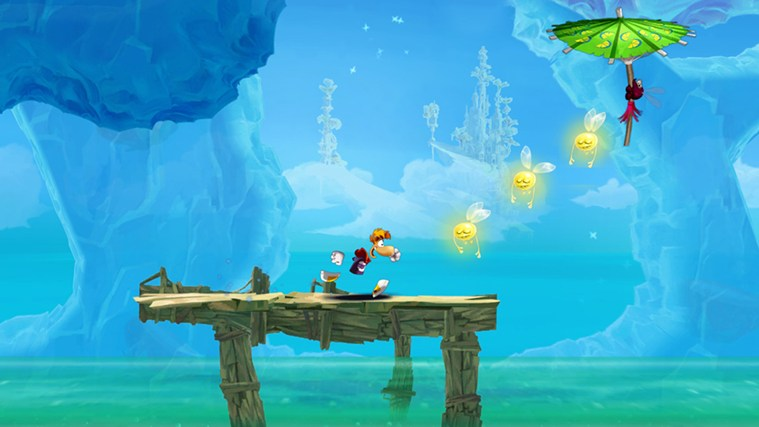 Rayman Fiesta Run screen shot 2