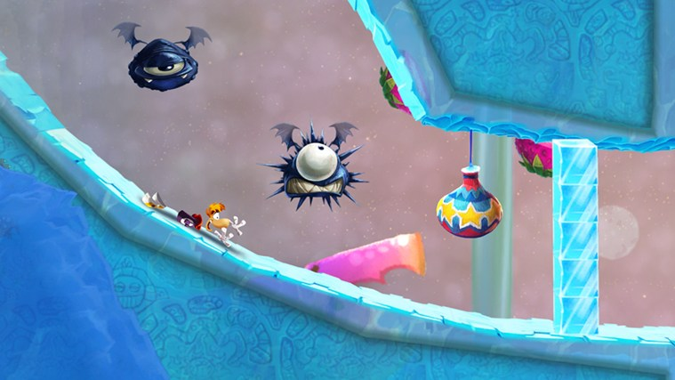 Rayman Fiesta Run screen shot 4