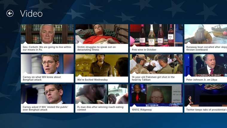 Fox News screen shot 4