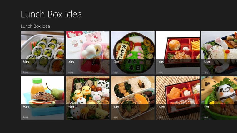 Lunch Box idea screen shot 0