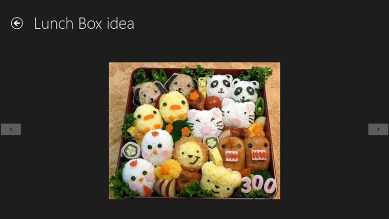 Lunch Box idea screen shot 4