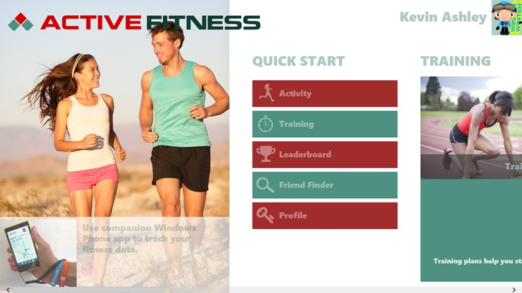 Active Fitness screen shot 0
