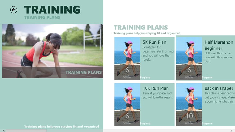 Active Fitness screen shot 2