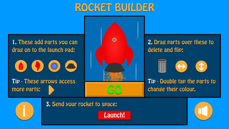 Rocket Builder screen shot 2