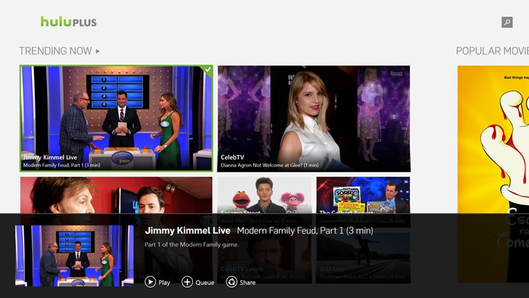 Hulu Plus screen shot 4