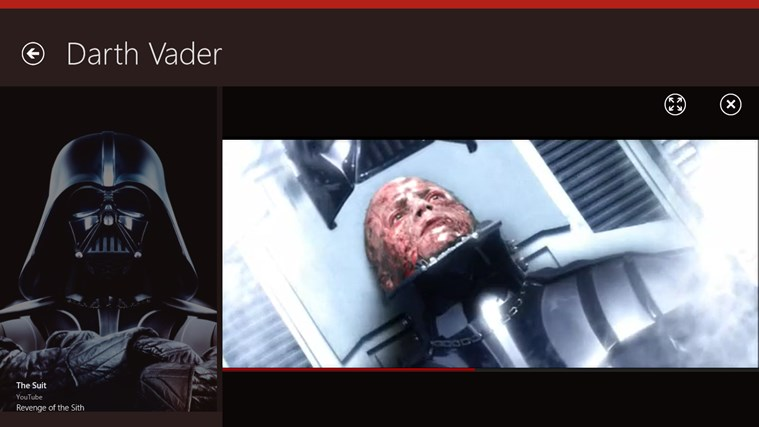 Star Wars Almanac screen shot 4