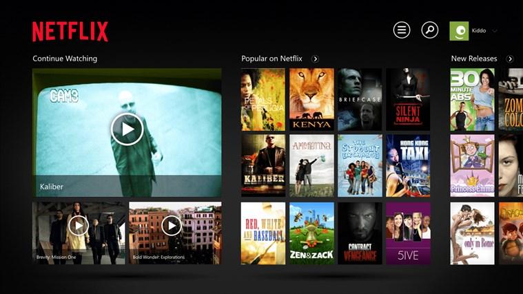 Netflix screen shot 0