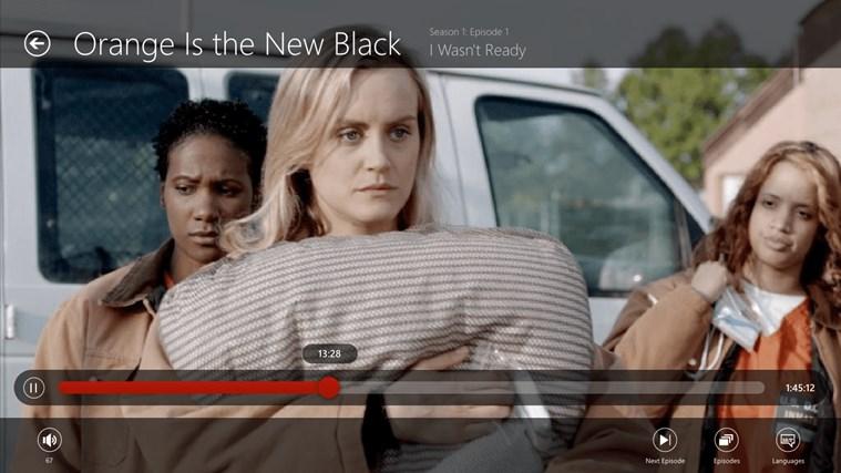 Netflix screen shot 2