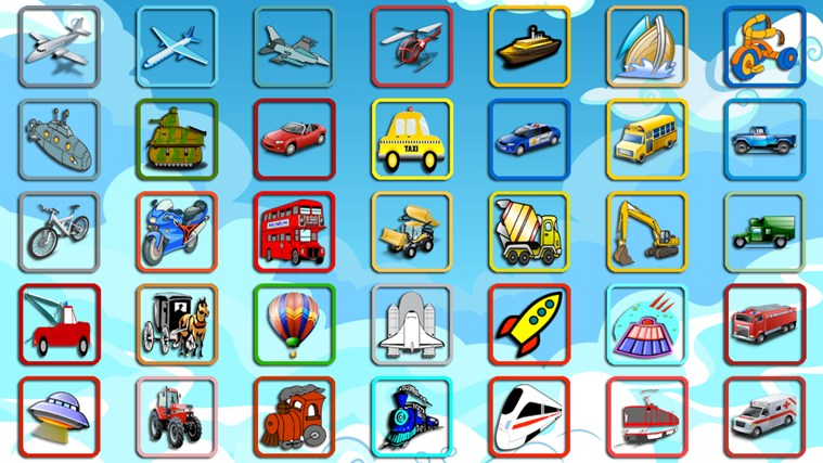Vehicles Coloring Pages For Kids App For Windows In The Windows Store