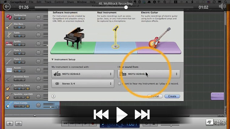 Learning GarageBand '11 screen shot 4