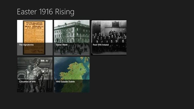 1916 Easter Rising petikan skrin 0