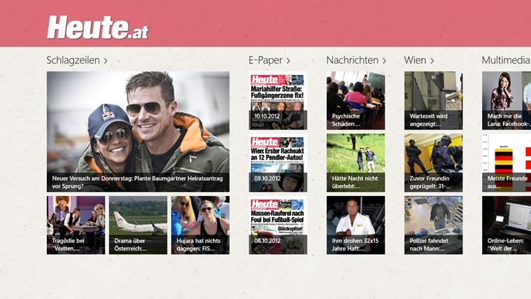 HEUTE - Die Tageszeitung Screenshot 0
